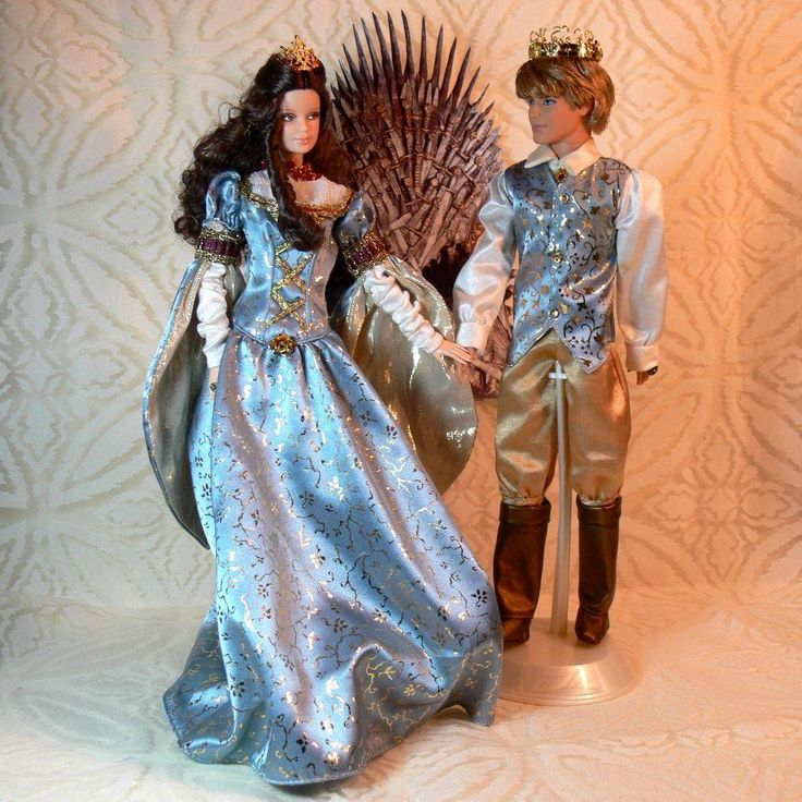 awesome Sale  GAME OF THRONES King Tommen & Queen Margaery Marriage ceremony TWO 2 OOAK DOLLS