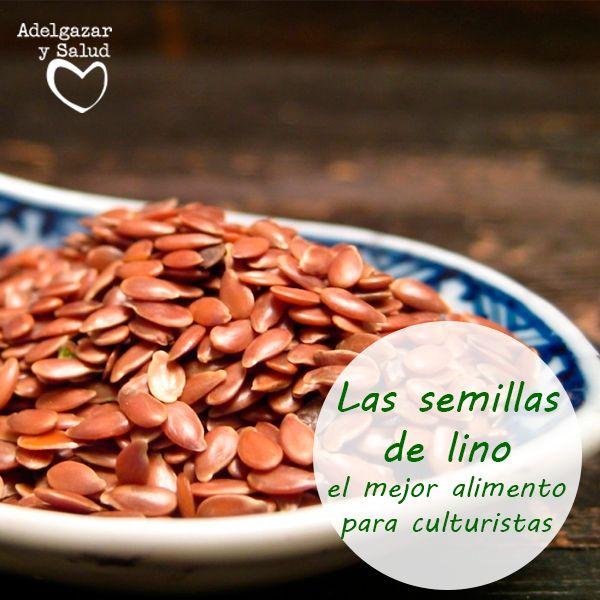 Las #semillas de #lino son un #alimento estrella si quieres desarrollar #músculo. Posee ácidos grasos esenciales como el #omega 3 que ayuda en la construcción del tejido muscular.