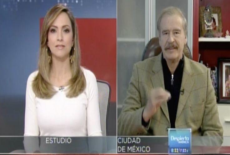 Impactante Entrevista A Vicente Fox, Ex Presidente Mexicano Quien Amenaza A Peña Nieto