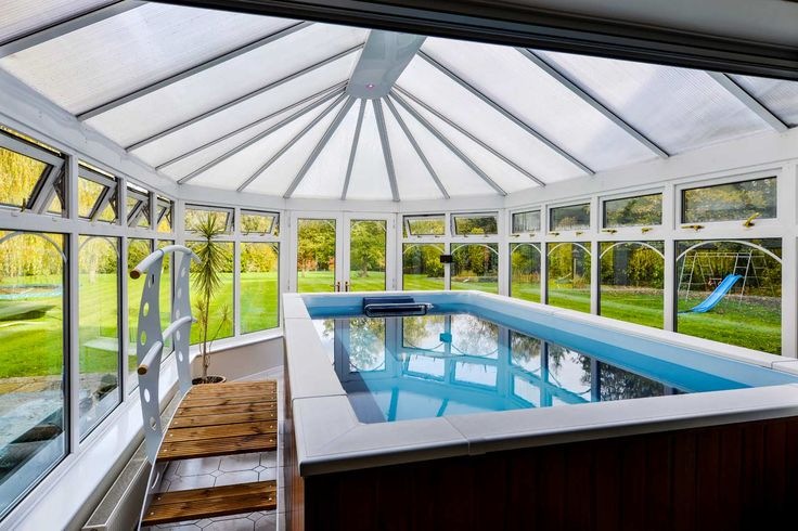 A stunning Endless Pools® conservatory installation by John Preston Pool & Spa.