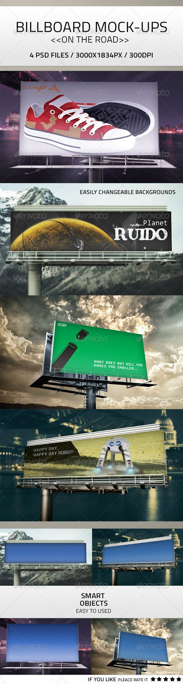 Billboard Mock-Up PSD :  Check out this great #graphicriver item 'Billboard Mock-Up PSD' http://graphicriver.net/item/billboard-mockup-psd/7750107?ref=25EGY