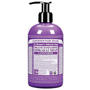 Organic Shikakai Hand Soap - Lavender (12 Fluid Ounces Liquid) by Dr. Bronner at the Vitamin Shoppe