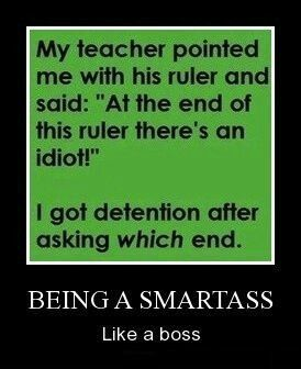 Never got a detention while in school. I was little Miss goody two shoes. Oh yuck