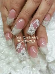 Resultado de imagen para diseños de uñas esculturales de boda