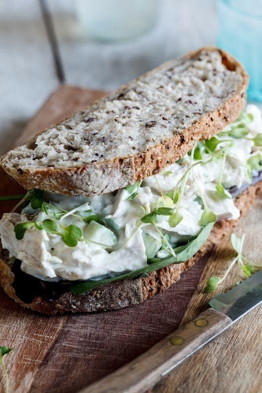 Chicken salad sandwich | Sandwiches | Pinterest