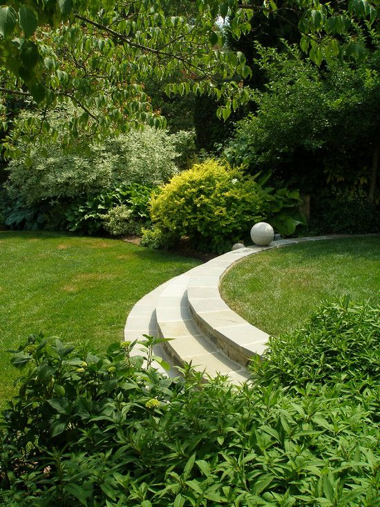 24 Best Images About Curved Steps On Pinterest