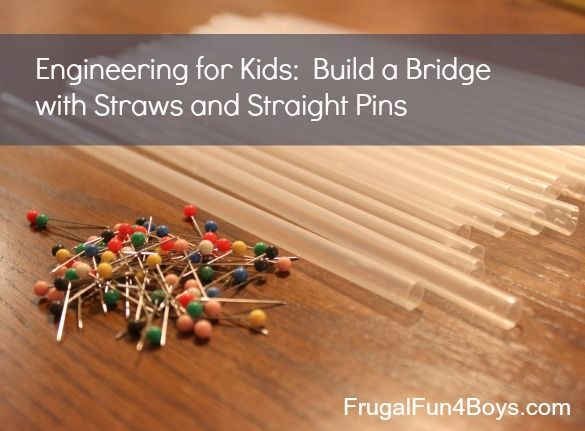 how to build a straw suspension bridge