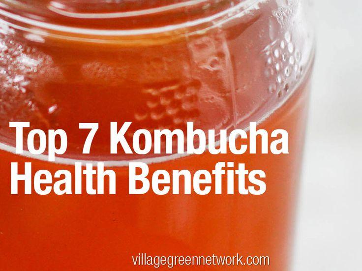 Kombucha has many health benefits. It's not just a delicious alternative to soda, it's a health tonic.
