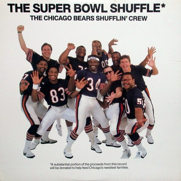 "I REMEMBER!!!!  ""We are the Bears Shufflin' Crew..."" In my opinion, one of the best teams in NFL history: 1985 Chicago Bears!"