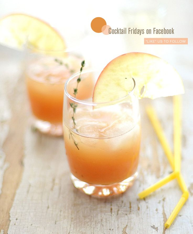 Cocktail Fridays on Freutcake FB- featuring Cider Rum Punch by Verses from my Kitchen