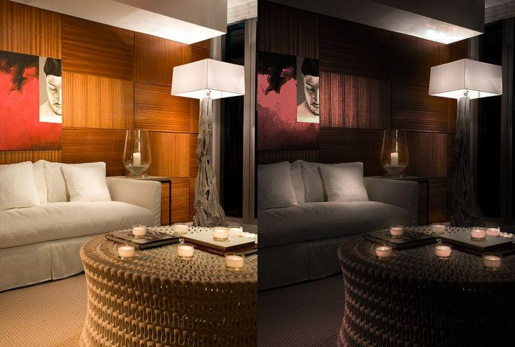 Luce (prima e dopo) P.S.: l'immagine di partenza non è mia, l'ho trovata su pinterest