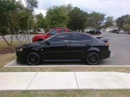2009 Mitsubishi Lancer GTS ; blacked out ;)