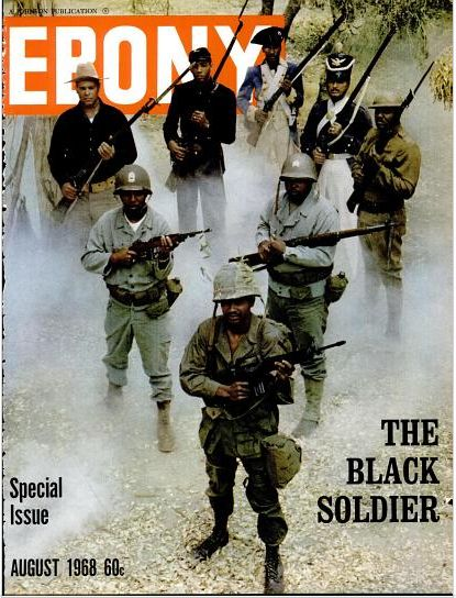 Black Soldier, Ebony magazine, Special Issue, August 1968