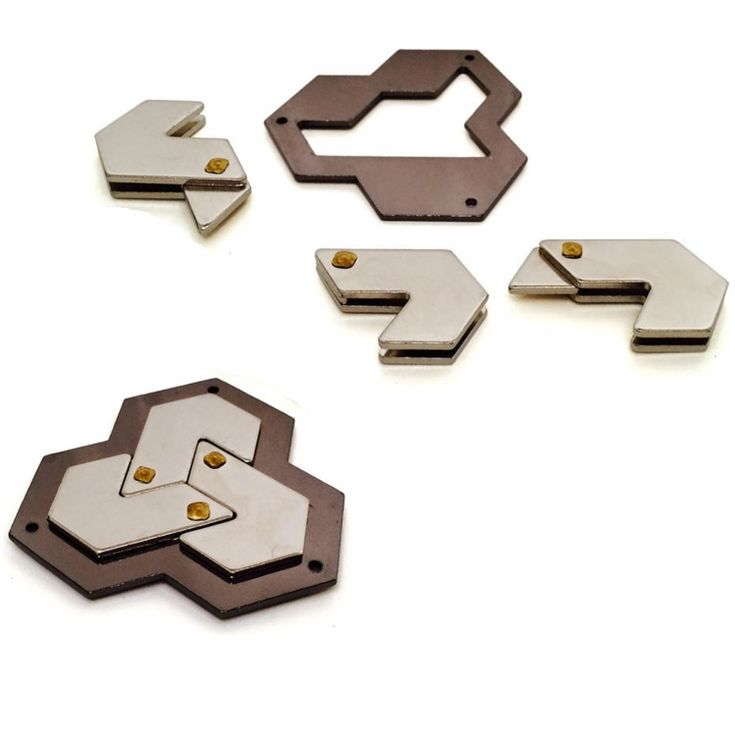 Cast Hexagon - Hanayama Metal Puzzle