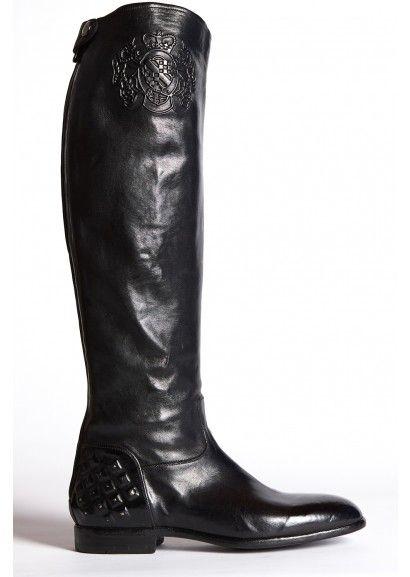 Tall Black Boots $495 at Zomp.com (Alberto Fasciani 21018 - Nero)