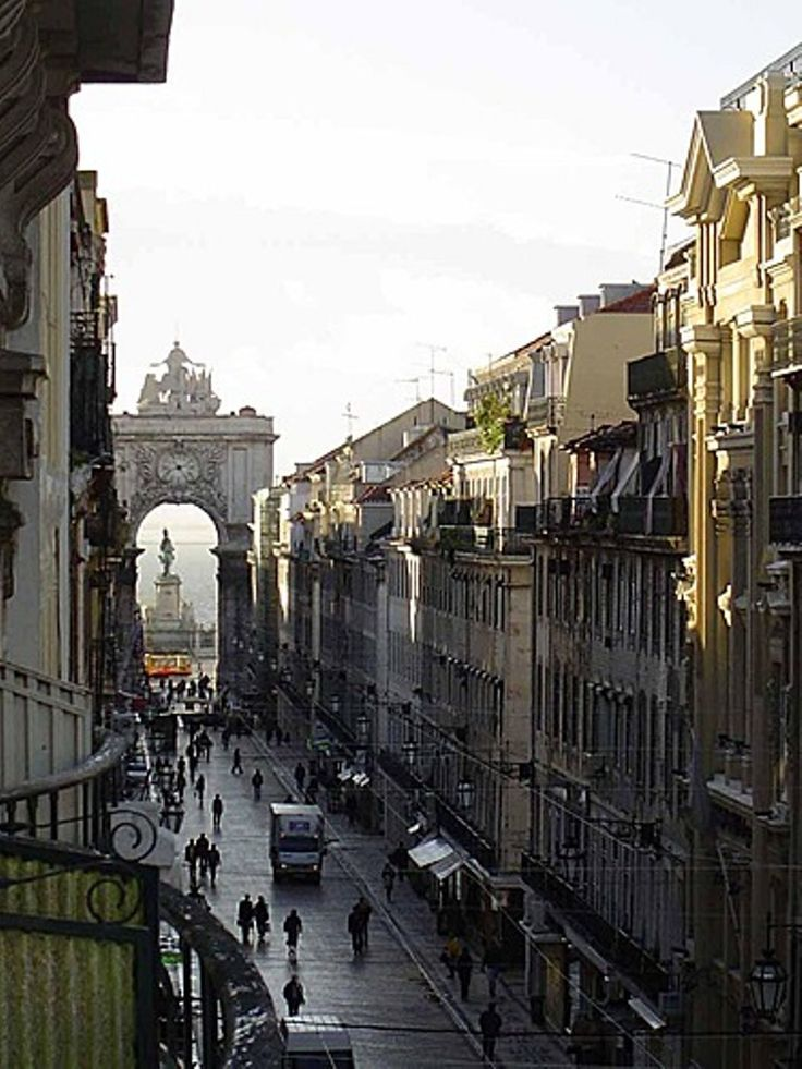 Lisbon downtown. Arch of Street Augusta. ~ #Portugal #lisbon