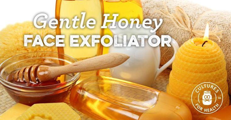 Gentle Honey Facial Exfoliator