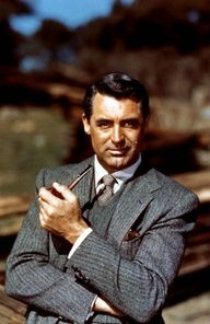 Cary Grant #celebstylewed 1940s 1950s #retro #vintage