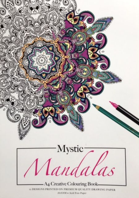 *A4 (Adult) Colouring Pads
