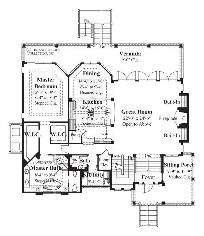 17 best images about elevator equipped home plans the for Elevator floor plan