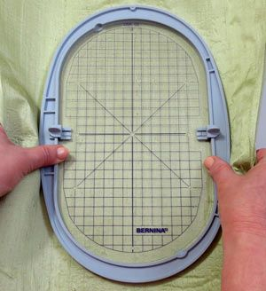 Video tutorial for BERNINA Embroidery - Tool Tip - Hooping Success