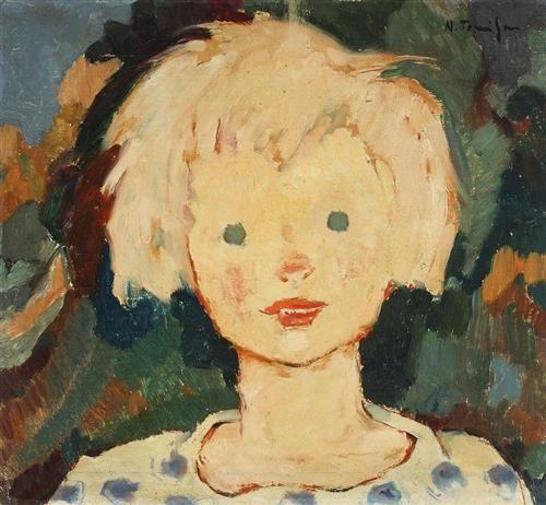 Forester's Son - Nicolae Tonitza