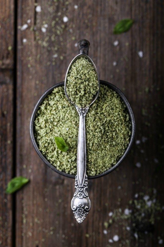 Рецепт - Базиликовая соль