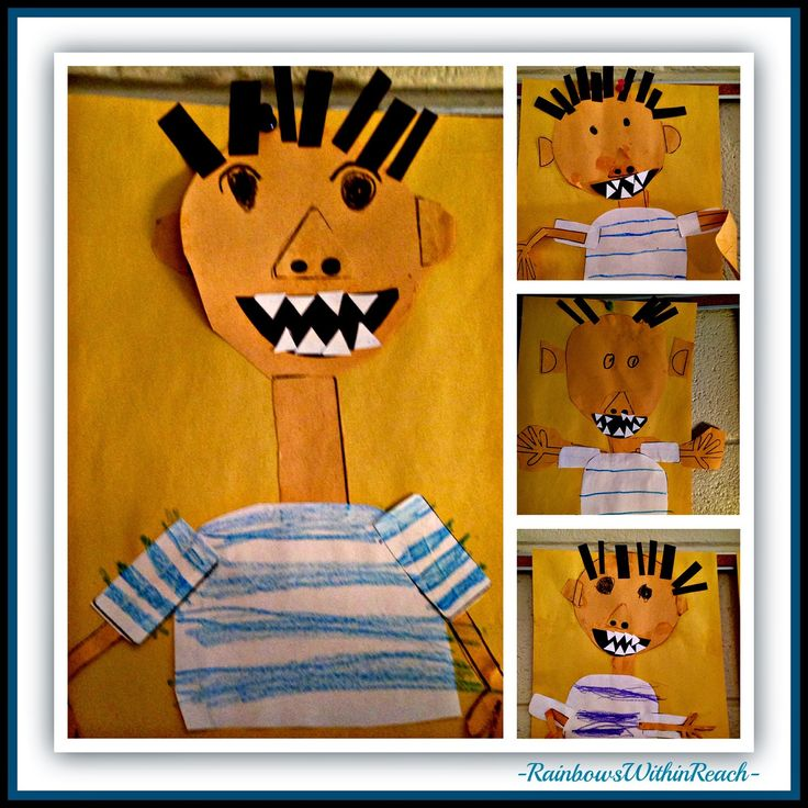 """No David"" Kindergarten Drawings at RainbowsWithinReach"