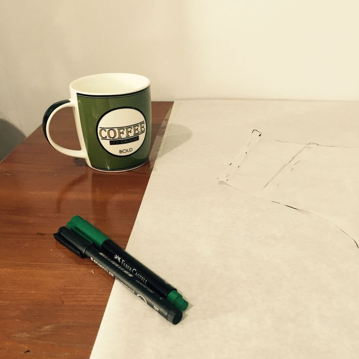 Pattern making day !!! But coffee first ...