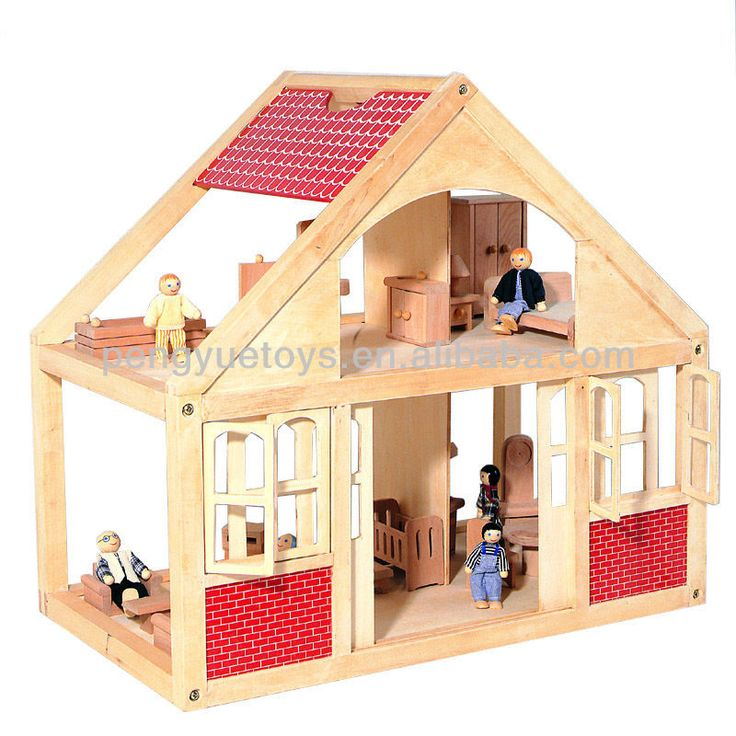 wooden dollhouse for dollhouse family 2014 wooden house fit PY2004