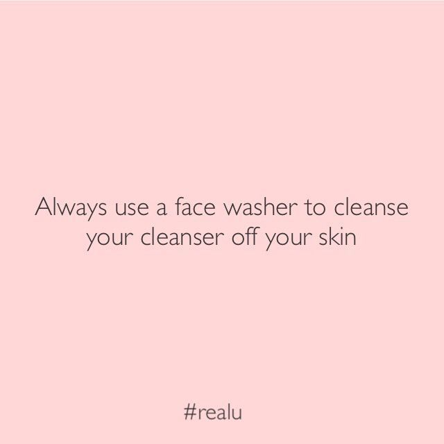 #skintip 👉🏻 a gentle exfoliation with your face washer every time you cleanse helps to stabilise problem skin 💕 Some exfoliants can be too harsh on problem skin so using a face washer might just be what your skin needs!