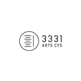 アーツ千代田3331のロゴ:3331は苦を丸に | ロゴストック
