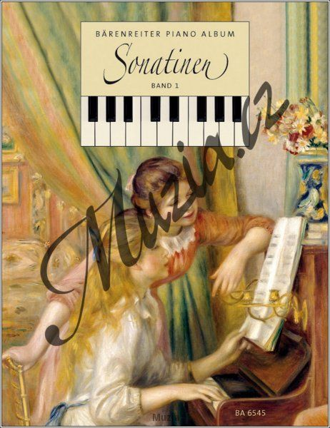 Album | Bärenreiter-Sonatinen-Album für Klavier | Noty na klavír - Provozovací partitura (BA 6545)