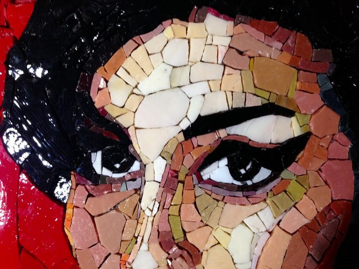 Details of Amy's portrait ~ by Ilaria Del Signore