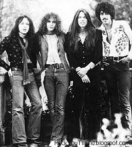 Thin Lizzy - huh! The boys are back in town again ...  Loved that song!