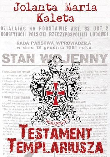 Okładka książki Testament templariusza