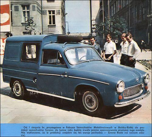OG | 1972 FSO Syrena Bosto | Van prototype based on Syrena 104