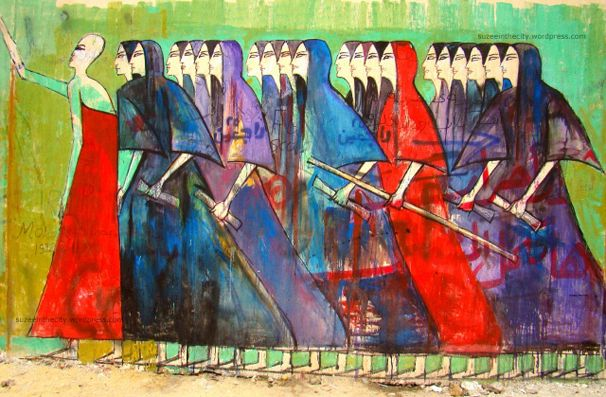 Women Graffiti Artists Emerge in Egypt |We Love Bold