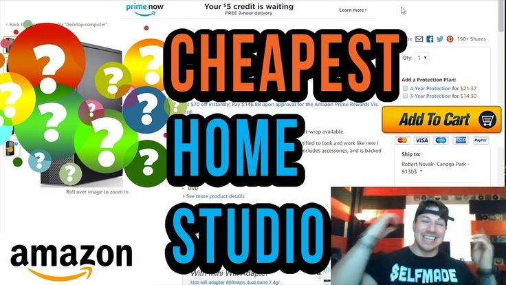 The Cheapest Possible Full Home Studio Setup Options https://youtu.be/VqKQFLTcREk YOU HAVE TO HAVE A Computer and at the bare minimum I want you to have a computer that you can get music recorded on fast and efficiently. I also want you to have a computer that will last you   All of these computers I am recommending have at least a intel i5 processor which is what I am going to recommend as the bare minimmum so that you have an efficient and quick recording process everytime.  I'm going to…