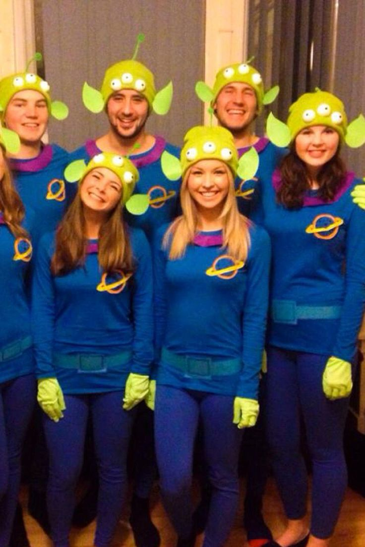 Crush Halloween This Year with These 32 Group Costumes