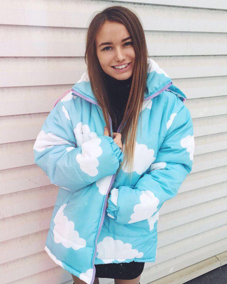 Blue Cloud Jacket boogzel apparel free shipping