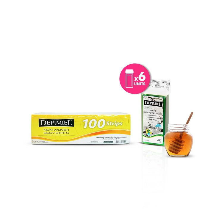 Refill - Starter At Home Waxing Kit. Waxing Supplies