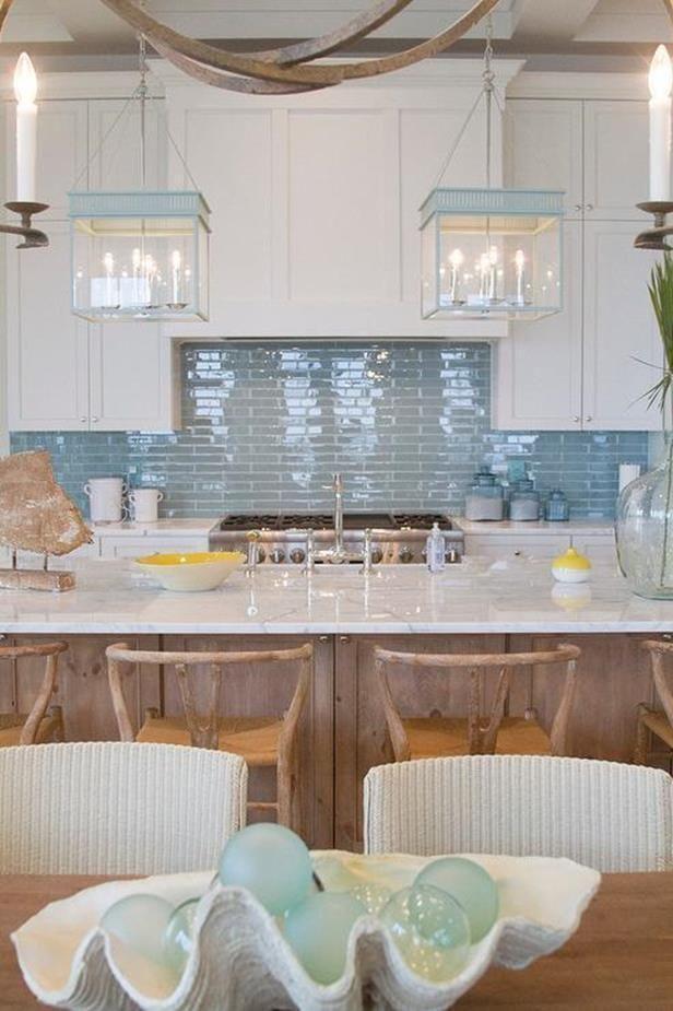20 Best Beach Kitchen Backsplash Tile Color Beach Kitchens Home