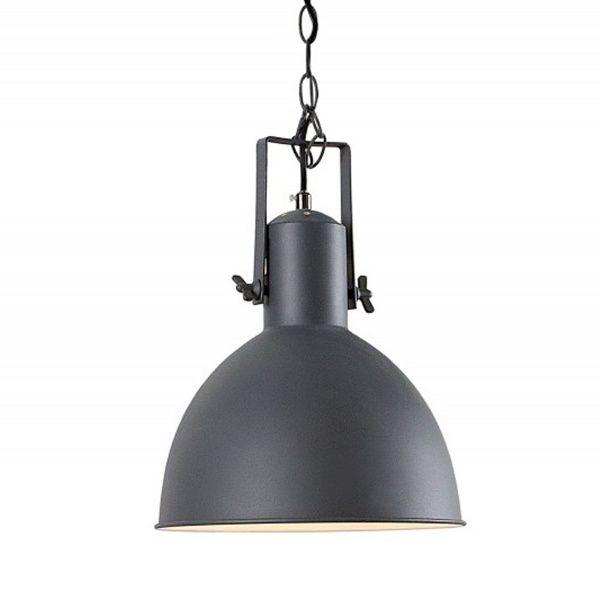 Designerska lampa w unikalnym, loftowym stylu, podkreśli oryginalny charakter w każdej kuchni czy jadalni. Mocny, surowy charakter lampy o nieco przemysłowym wizerunku doskonale pasuje również do biura lub gabinetu.