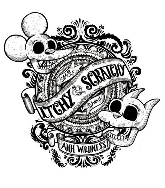 itchy & scratchy x iain mcarthur