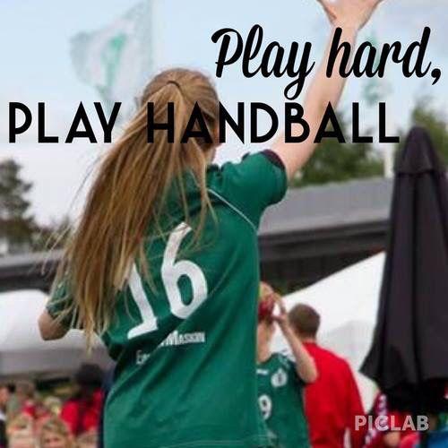 Play hard! Play handball!!