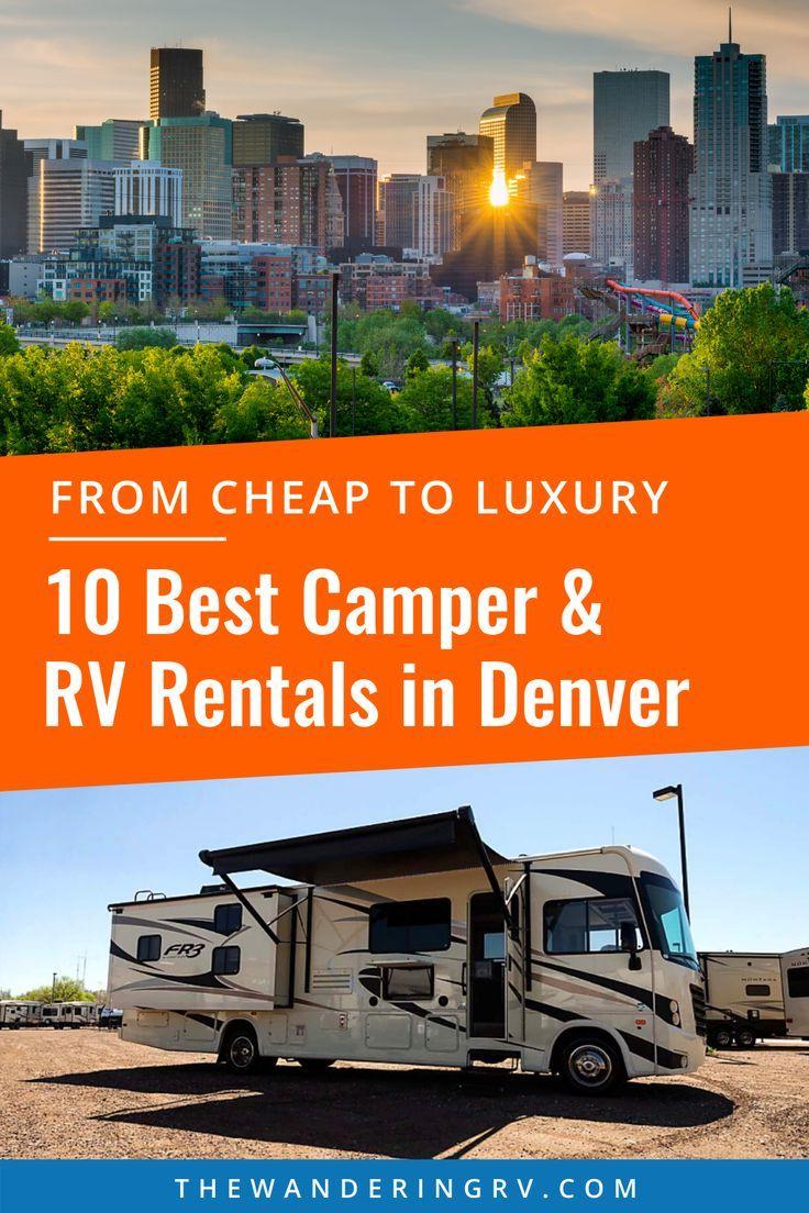 10 Best Camper & RV Rentals in Denver, CO Rv rental
