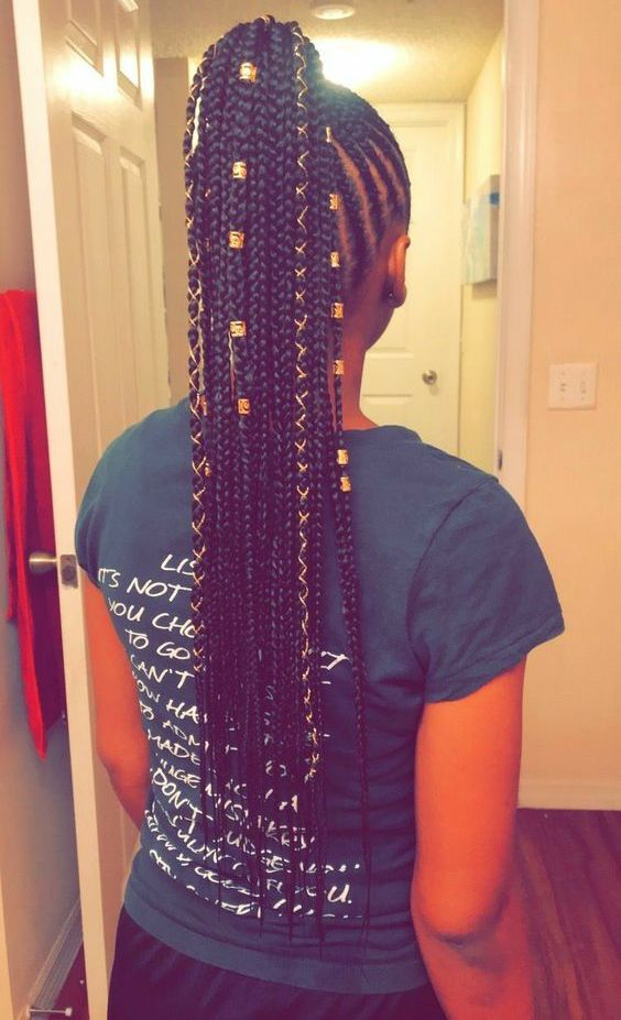 20 Cornrows With Beads For Adults Natural Hair Styles