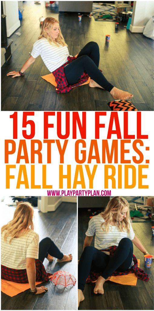 25 b sta fall party games id erna p pinterest id er for Fall outdoor activities for adults