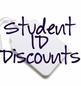 High school and college students can receive tons of discounts these days.The stores I've personally received discounts from have a * next to them. However, these probably aren't the only stores y...